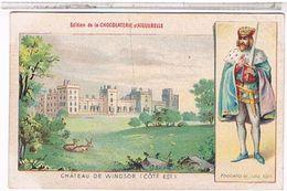 CHATEAU  DE WINDSOR  (COTE  EST)    EDITION  DE LA CHOCOLATERIE  D'AIGUEBELLE  TBE  FO168 - England