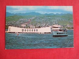Arizona Memorial Pearl Harbor   Ref 2841 - Warships