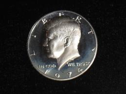 1974-S Proof Kennedy Half Dollar - Federal Issues