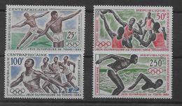 Serie De República Centroafricana Nº Yvert 22/25 (**). - República Centroafricana