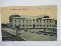 MADAGASCAR  - TANANARIVE  - RESIDENCE  DE  LA  MISSION  CATHOLIQUE  A  ANTANIMENA       TTB - Madagascar