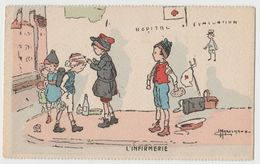 CPA L'infirmerie - Illustration G. Marechaux - Illustrators & Photographers