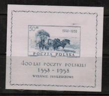 "POLAND  Scott # 830** VF MINT NH ""SILK"" SOUVENIR SHEET Of 1 LG-503 - Blocks & Sheetlets & Panes"