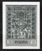 POLAND  Scott # 931** VF MINT NH IMPERFORATE SOUVENIR SHEET Of 1 LG-506 - Blocks & Sheetlets & Panes