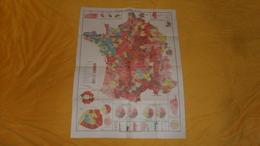 CARTE ANCIENNE ELECTIONS LEGISLATIVES DE 1902. / STE D'EDITIONS CARTOGRAPHIQUES PARIS XVe. - Other