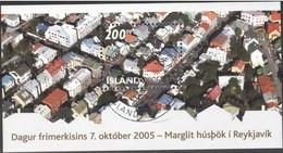 Islande Iceland Ijsland 2005 Yvertn° Bloc 39 (0) Oblitéré Cote 7,50 Euro Journée Du Timbre - Blocs-feuillets