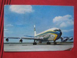 Werbekarte - Lufthansa Boeing 707 Intercontinental Jet 1962 - 1946-....: Moderne