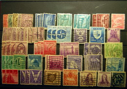 USA - Small Batch Of 68 Stamps Before & After WWII - Sammlungen
