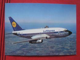 Werbekarte - Lufthansa Boeing 737 City Jet - 1946-....: Moderne