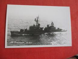 RPPC  USS Steinaker DD 863  ---ref 2841 - Warships