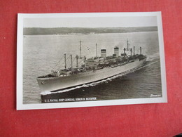 RPPC  US Naval Ship General Simon B. Buckner-ref 2841 - Warships