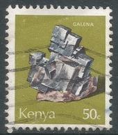 Kenya. 1977 Minerals. 50c Used. SG 111 - Kenya (1963-...)