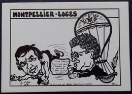 """CP Lardie - MONTPELLIER-LOGES (W DIMEGLIO) - Série """"La Vie Chez Les Frères Trois Points"""" N° 129 - 85 Ex - Montpellier"""