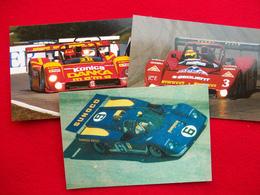 3 CARTOLINE FERRARI 333SP E 512 M SUNOCO - Le Mans