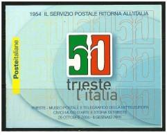 Italia - 2004 - Usato/used - Trieste - Libretto - Mi N. 2997 - 6. 1946-.. Repubblica