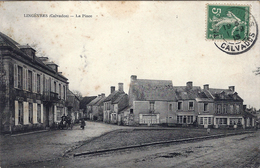 Lingèvres- La Place.(auto Petit Plan) - Autres Communes