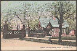 Belle Vue, Norfolk Park, Sheffield, C.1905 - RPS Series Postcard - Sheffield