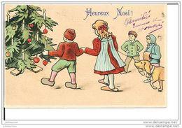 HEUREUX NOEL ILLUSTRATION ENFANT ARBRE DE NOEL CPA 1908 BON ETAT - Sin Clasificación