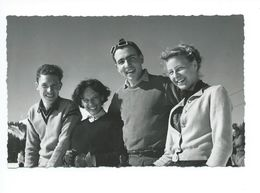 Jeunes Skieurs Photo Steinemann Flums - Cartes Postales