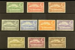1932 Anniversary Of Settlement Complete Set, SG 84/93, Very Fine Mint, Very Fresh. (10 Stamps) For More Images, Please V - Montserrat