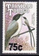 Trinidad And Tobago 1994 Birds Definitives 75c On 40c Value, Wmk Script CA, 1990 Imprint, MNH, SG 882 - Trinidad & Tobago (1962-...)