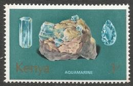 Kenya. 1977 Minerals. 3/- MH. SG 117 - Kenya (1963-...)