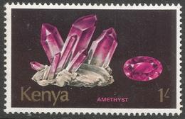 Kenya. 1977 Minerals. 1/- MH. SG 114 - Kenya (1963-...)