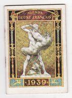 AGENDA DU JEUNE FRANCAIS    1939    Sports   Rugby, Ski, Athlétisme, Basket, Tennis, équitation, Bobsleigh   48 Pages - Calendriers