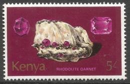 Kenya. 1977 Minerals. 5/- MH. SG 118 - Kenya (1963-...)