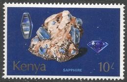 Kenya. 1977 Minerals. 10/- MH. SG 119 - Kenya (1963-...)