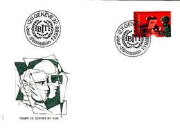 Suisse Yvert Service 465 BIT 1988 - Officials