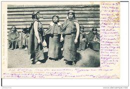 CHILI MAPUCHES FAMILIA ARAUCANA CPA 1903 - Chile