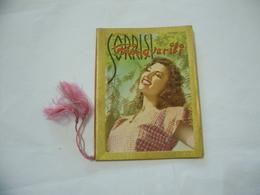 CALENDARIO DA BARBIERE CASOLI GIUSEPPE VARESE  SORRISI PRIMAVERILI 1955. - Calendari