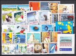 1906-1950 Schweiz-Jahrgang 2005 Komplett, Postfrisch - Zwitserland