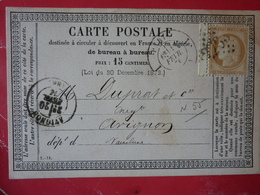15.02.18_    Precurseur De Paris-passy Route 1 A Voir! Sur 59 BDF ! Verso!! - Marcophilie (Lettres)