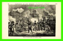 MILITARIA - NAPOLÉON ET SON ÉPOQUE - LES FRANÇAIS EN EGYPTE, PRISE D'ALEXANDRIE, 1798 -  ND - - Personnages