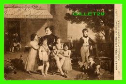 MILITARIA - NAPOLÉON 1er ET LES ENFANTS DE MURAT - DUCIS LOUIS (1773-1847) - MUSÉE DE VERSAILLES - CIRCULÉE 1906 - - Personnages