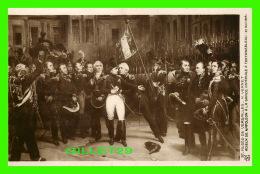 MILITARIA - ADIEUX DE NAPOLÉON À LA GARDE IMPÉRIALE À FONTAINEBLEAU, 1814 -  H. VERNET - MUSÉE DE VERSAILLES - - Personnages