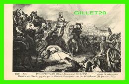 MILITARIA - HENRI-EMMANUEL PHILIPPOTAUX (1815-1884) - BATAILLE DE RIVOLI GAGNÉ PAR BONAPARTE, 1797 - MUSÉE DE VERSAILLES - Personnages