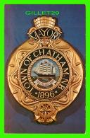 CHATHAM, NEW BRUNSWICK - OFFICIAL TOWN CREST OF CHATHAM - CHUCK  DEWEY PHOTOGRAPHY - - Nouveau-Brunswick