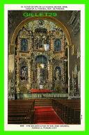 PANAMA CITY, PANAMA - THE GOLDEN ALTAR IN SAN JOSE CHURCH AVENUE A - SUCESION DE I. ML. MADURO Jr - - Panama