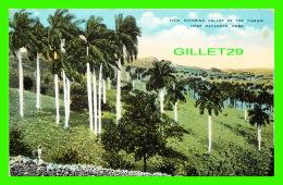 MATANZAS, CUBA - VIEW ENTERING VALLEY OF THE YUMURI - ANIMATED - - Cuba