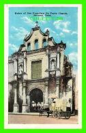HAVANA, CUBA - RUINS OF SAN FRANCISCO DE PAULA CHURCH - ANIMATED - SWAN - - Cuba