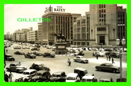 MEXICO CITY, MEXICO -CALLE DEL EJIDO - ANIMATED WITH OLD CARS - RON BATEY - TRAVEL - - Mexique