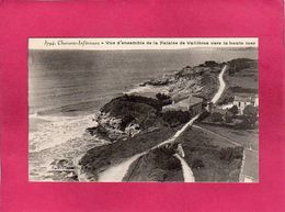 17 Charente Maritime, Vue D'Ensemble De La Falaise De Vallières Vers La Haute Mer, (Braun) - France