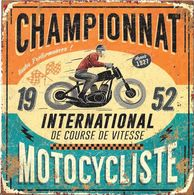 * CHAMPIONNAT INTERNATIONAL De Course De Vitesse - MOTOCYCLISTE - Sport Moto