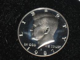 1987-S Proof Kennedy Half Dollar - Federal Issues