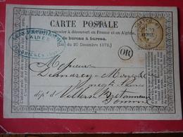 15.02.18_    Precurseur OR De Feuquieres (oise) A Voir! Sur 59 ! Verso!! - Postmark Collection (Covers)