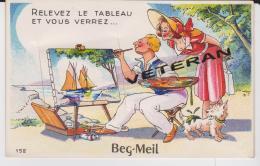 29170 BEG MEIL  CARTE SYSTEME  TOP ETATR 1957 - France