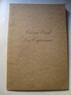 NOUVEAU CERCLE LES CAPUCINES - FRANCE, 1954. CLUB JEUX D'HASARD, CASINO. - Programs